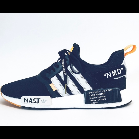 Off White x Adidas NMD R1 Customs Size US 11 Men